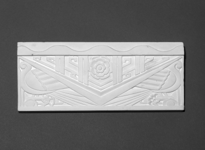 Art Deco Design. Plaster.