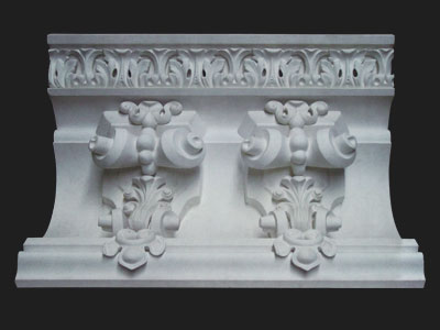 Restoration, crown molding. Victorian style. Plaster. Various sizes.