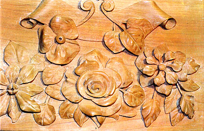 Design for Molding Panel. Wood. 12 inches x 8 inches