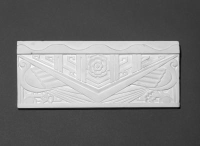 Art Deco Design. Plaster.