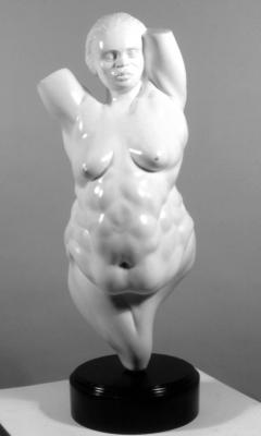 Female Figure. Plaster.